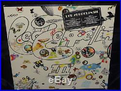 Led Zeppelin III SEALED US 1970 1ST PRESS LP With HYPE STICKER & rotating-wheel