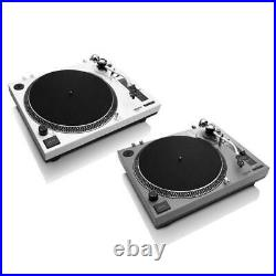 Lenco L-3808 33 & 45 RPM Direct Drive USB Turntable -Vinyl Record Player
