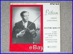 Leonid KOGAN Beethoven violin cto SAX 2386 1st Ed
