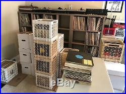 Lot of 100 12 Vinyl Records house, progressive, deep house, trance, techno