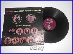 Lp- Orquesta Ritmo Swing On Risol Records