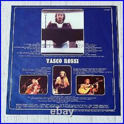Lp Vasco Rossi Ma Cosa Vuoi Che Sia Una Canzone Originale Lotus + Card Firmata
