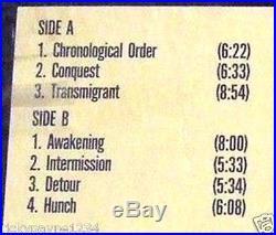 MATTHIAS THUROW CORNUCOPIA 1986 VINYL LP LIFESTYLE RECORDS
