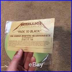 METALLICA Fade To Black GREEN Colored Vinyl. 1985 Promo. Metal 12 Record