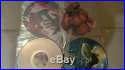 METALLICA RECORD COLLECTION 17 vinyl LP's with BONUS Tour Program
