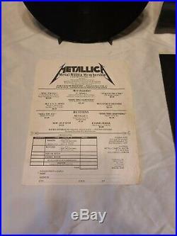 METALLICA RIDE THE LIGHTNING MEGAFORCE Original In Srink withPrice Sticker
