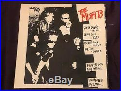 MISFITS Bullet only 1000 made Original 1st Pressing with insert 1978 (Danzig)