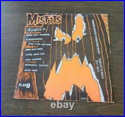 MISFITS HALLOWEEN ORIGINAL 7 VINYL RECORD 1st Press Light Orange PL1017 DANZIG