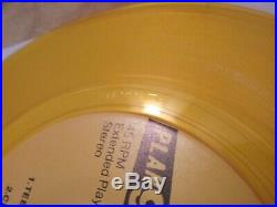 MISFITS Horror Busines Mega Rare Yellow vinyl wax 7 EP 45 AUTHENTIC punk kbd