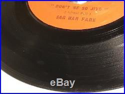 MONSTER NORTHERN SOUL 45 Sag War Fare Don't Be So Jive Libra Records