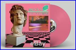 Macintosh Plus Floral Shoppe Bubblegum Pink Vinyl LP OESB Vaporwave + Poster