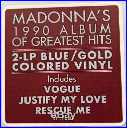 Madonna The Immaculate Collection 2017 limited COLOURED 2 LP vinyl NEWithSEALED