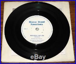 Manic Street Preachers Suicide Alley Welsh Indie Punk 7 1988 Richie Diy Sleeve