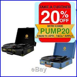 Mbeat Woodstock Retro Turntable 3 Speed Vinyl Record Player/Speaker/RCA Output