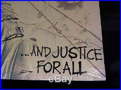 Metallica And Justice For All SEALED USA 1988 1ST PRESS 2 LP SET With HYPE STICKER