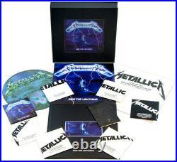 Metallica Ride the Lightning (Deluxe Box Set) New Vinyl LP Oversize Item Spi