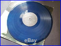 Michael Jackson Thriller BLUE LP Vinyl Nigerian- scream smile signature series