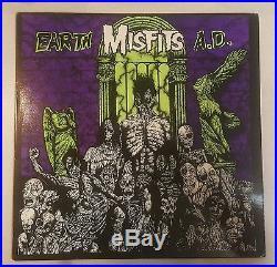 Misfits Earth AD Yellow Vinyl 12 LP Samhain Danzig