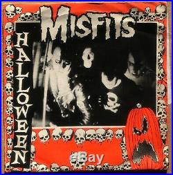 Misfits Halloween 7 original on Plan 9 from 1981, punk hardcore