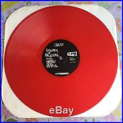 Misfits Legacy Of Brutality LP RARE RED VINYL 1986 EX Danzig Samhain Black Flag