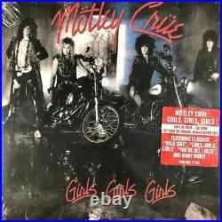 Motley Crue Girls Girls Girls Current Pressing Sealed LP Vinyl Record Album