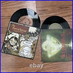 My Chemical Romance RARE Headfirst For Halos/Honey This Mirror 45 vinyl set