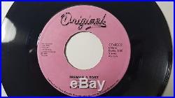 Mylene Farmer Maman A Tort CANADIAN RARE Pink Labe 7 Vinyl- xxl ainsi soi je qi