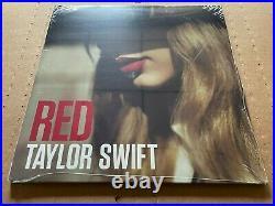 NEW SEALED Taylor Swift Red Vinyl 2xLP