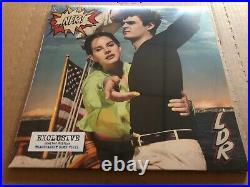 NEW SUPER RARE Lana Del Rey Norman Rockwell NFR BLUE Vinyl 2xLP