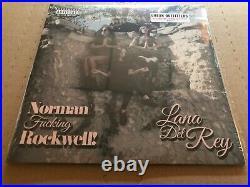 NEW SUPER RARE Lana Del Rey Norman Rockwell NFR PINK Vinyl 2xLP
