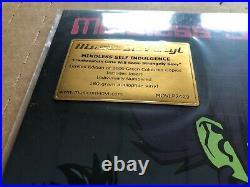NEW SUPER RARE Mindless Self Indulgence Frankenstein Girls GREEN Vinyl LP