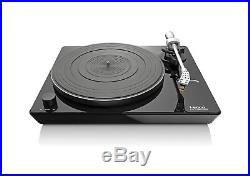 New Lenco L-175 Direct Drive Glass Vinyl Turntable Record Player