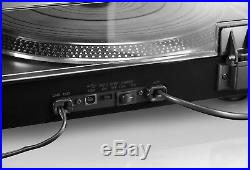 New Lenco L-3807 Professional Turntable Vinyl Record Player