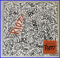 New Paramore RIOT! Limited Edition Orange Vinyl Sealed