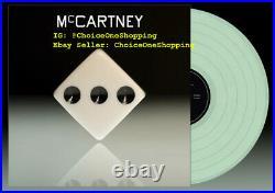 New Paul McCartney of The Beatles III 3 Spotify Coke Bottle Clear Vinyl LP 3000