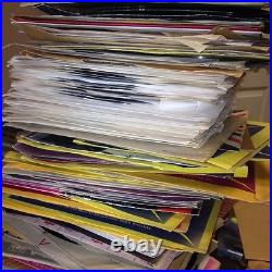 Nice Lot Of 50 Country and Western 45's Records Jukebox 7 45 C&W Honkey Tonk