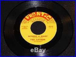 Nice NM THE LOVERS Without A Doubt orig 45 Frantic Northern Soul 45 Mp3
