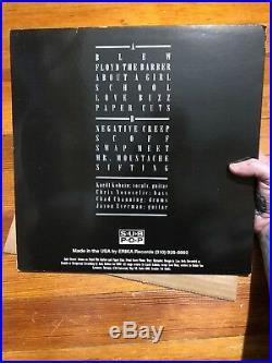 Nirvana Bleach LP Holy Grail Record Vinyl Red White Only 500 Kurt Cobain Promo