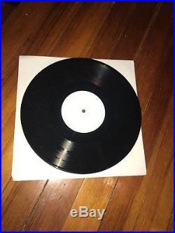 Nirvana Kurt Cobain Test Pressing William Burroughs 10 LP Vinyl Record Rare Oop