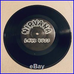 Nirvana Love Buzz Debut Sub Pop 7 SP23 Number 637/1000 Kurt Cobain