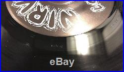 Nirvana Love Buzz Genuine Original USA 7 #317 With Rare K Distribution Sticker