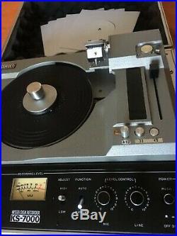 Nissei KS-7000 Disk Recorder / Japan Vinyl Cutter Maschine / Vanrock Atom
