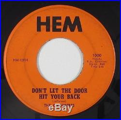 Northern Soul 45 Cashmeres Don't Let The Door/Show Stopper Hem mp3