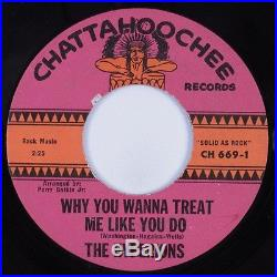 Northern Soul 45 HYPERIONS Why Wanna Treat Me Like You Do CHATTAHOOCHEE HEAR