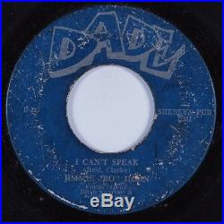 Northern Soul 45 JIMMIE BO HORNE I Can't Speak DADE HEAR
