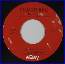 Northern Soul/Funk 45 James Fountain Seven Day Lover Peachtree mp3