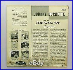 Original Johnny Burnette and the Rock'nRoll trio Coral Records 57080 Album