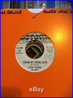 Original Northern Soul 45-linda Griner-good-by Cruel Love