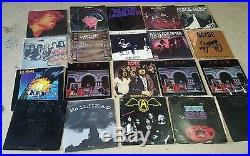 Over 700 vinyl record collection  Zappa Beatles Zeppelin