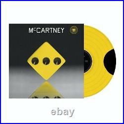 PAUL McCARTNEY McCartney III 3 Third Man TMR Yellow Vinyl LP 333 Copies Only